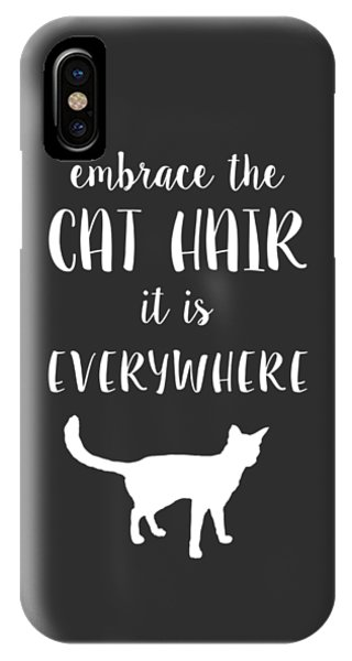 Cat Hair IPhone Case
