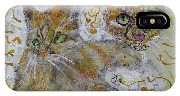 Cat Named Phoenicia IPhone Case