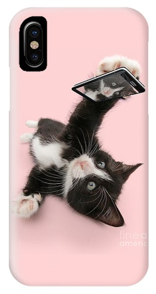 Cat Selfie IPhone Case