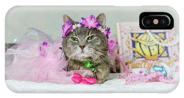 Cat Tea Party IPhone Case