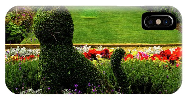 Cat Topiary Belfast IPhone Case