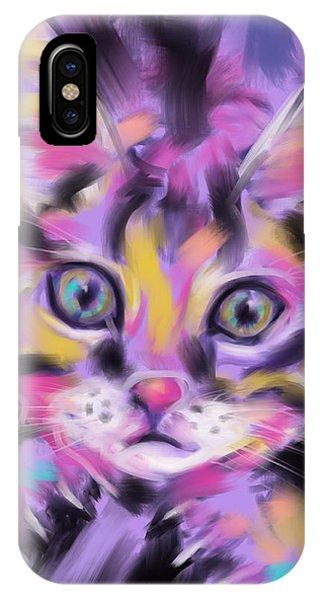 Cat Wild Thing IPhone Case