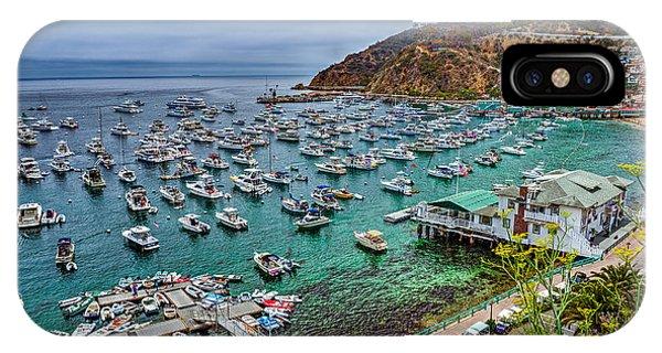 Catalina Island  Avalon Harbor IPhone Case