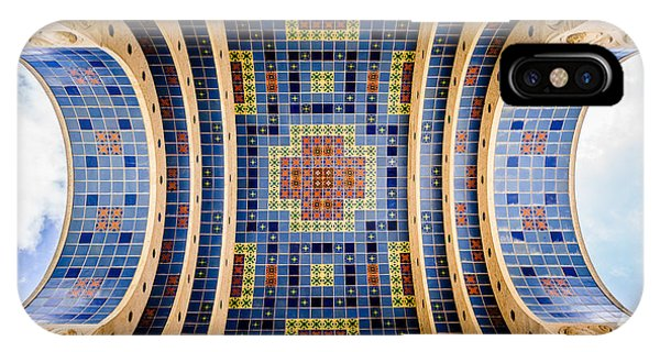 Catalina Island Wrigley Memorial Tiled Ceiling IPhone Case