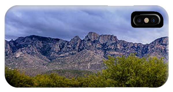 Catalina Mountains P1 IPhone Case