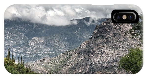 Catalina Mountains IPhone Case