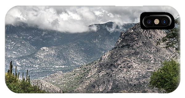 IPhone Case featuring the photograph Catalina Mountains by Tam Ryan