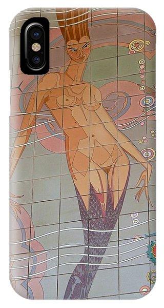 Catalina Tile Mermaid IPhone Case