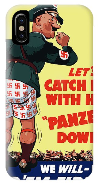 Americana iPhone Case - Catch Him With His Panzers Down by War Is Hell Store