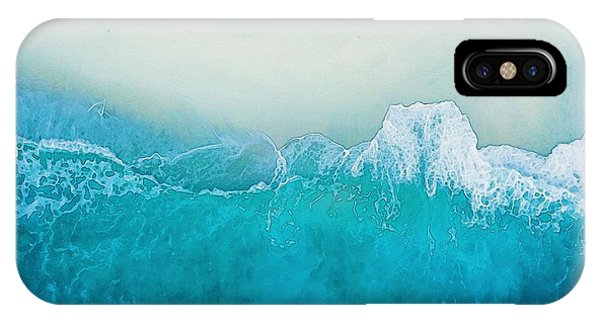 Catch Me By The Sea  Watercolor Art By Adam Asar - Asar Studios IPhone Case