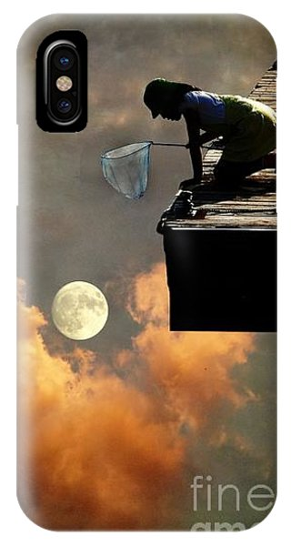 Catch The Moon IPhone Case
