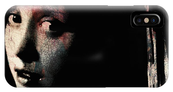 Texture iPhone Case - Catch Your Dreams Before The Slip Away by Paul Lovering