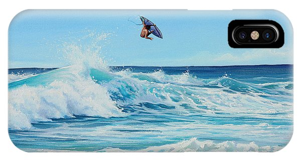 Catching Air IPhone Case
