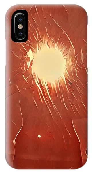 iPhone Case - Catching Fire by Gina Callaghan
