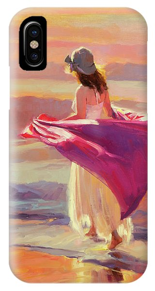 Beach iPhone Case - Catching The Breeze by Steve Henderson