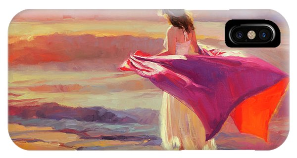 Pacific Ocean iPhone Case - Catching The Breeze by Steve Henderson