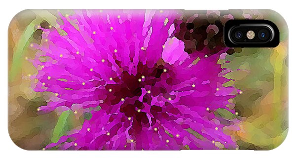 Catclaw Pink Mimosa  IPhone Case