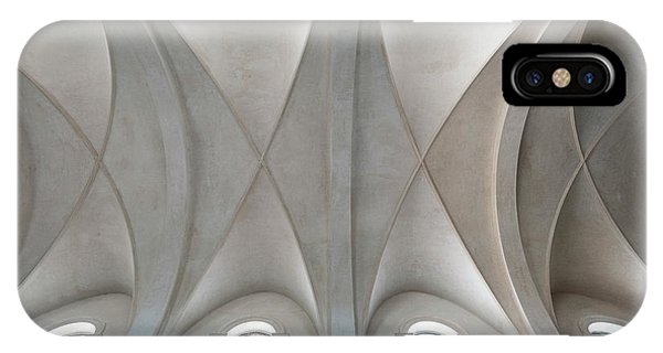 Catedral De La Purisima Concepcion Ceiling IPhone Case