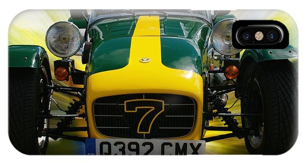 iPhone Case - Caterham 7 by Chris Day