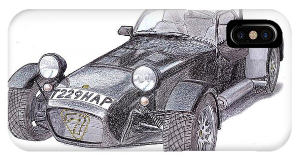 Caterham Iphone Cases Fine Art America