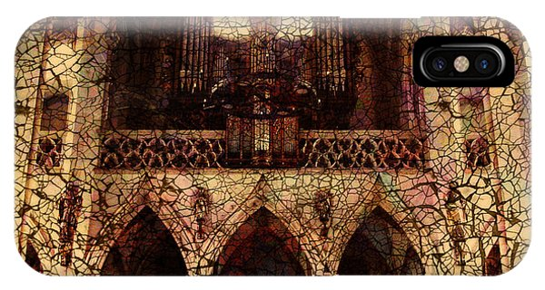 Beam iPhone Case - Cathedral by Barbara Berney