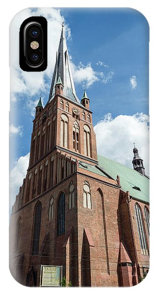 Cathedral Basilica Of St. James The Apostle, Szczecin A IPhone Case