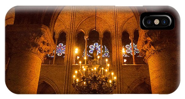 Cathedral Chandelier IPhone Case