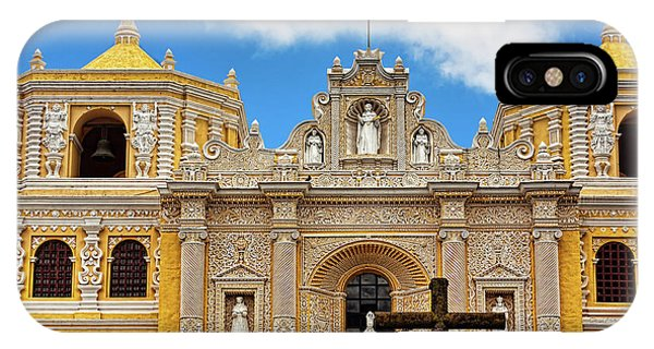 Cathedral In Antigua, Guatemala IPhone Case