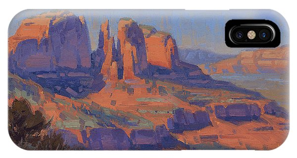 Red Rock iPhone X Case - Cathedral In The Heat by Cody DeLong