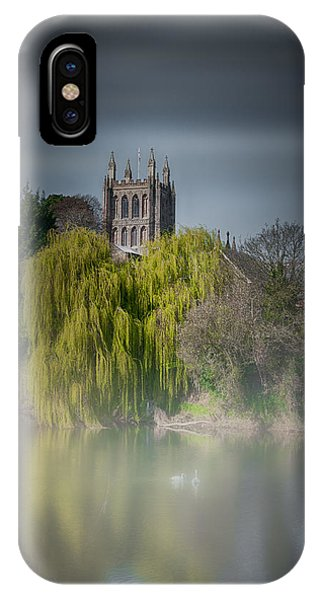 Cathedral In The Mist IPhone Case
