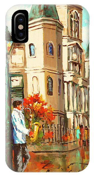 Cathedral Jazz IPhone Case