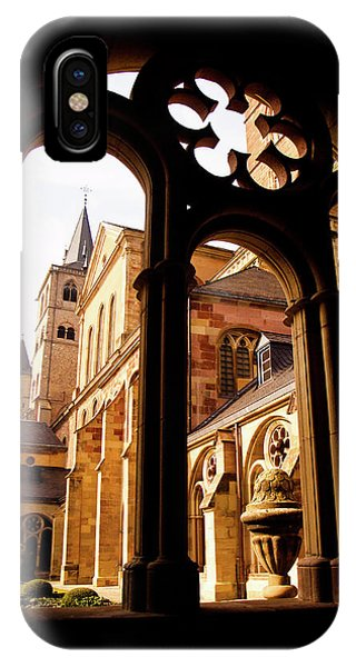 Cathedral Of Trier Window IPhone Case