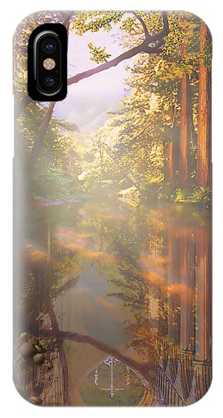 Cathedral Redwoods IPhone Case