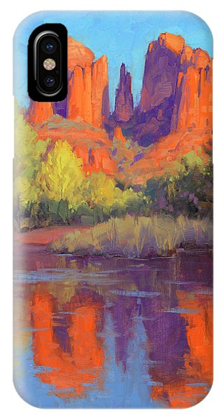 Cathedral Rock iPhone Case - Cathedral Reflections by Cody DeLong