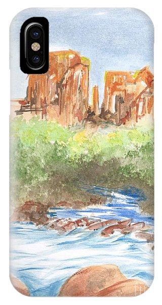 Cathedral Rock 2,  Sedona, Az. IPhone Case