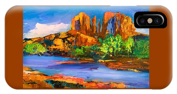 Cathedral Rock iPhone Case - Cathedral Rock Afternoon by Elise Palmigiani