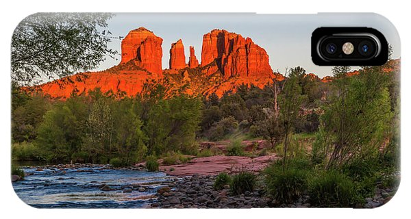 Cathedral Rock At Red Rock Crossing IPhone Case