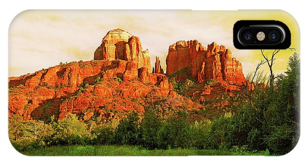 Cathedral Rock Az IPhone Case