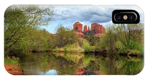 Cathedral Rock Reflection IPhone Case