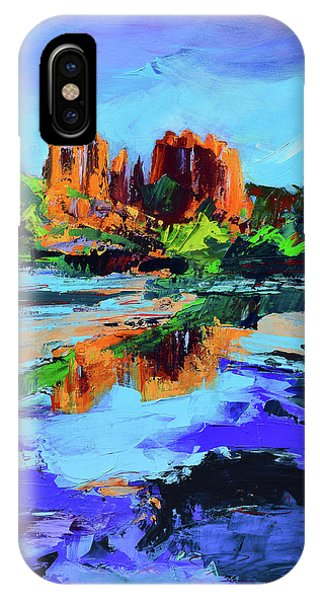 Cathedral Rock iPhone Case - Cathedral Rock - Sedona by Elise Palmigiani