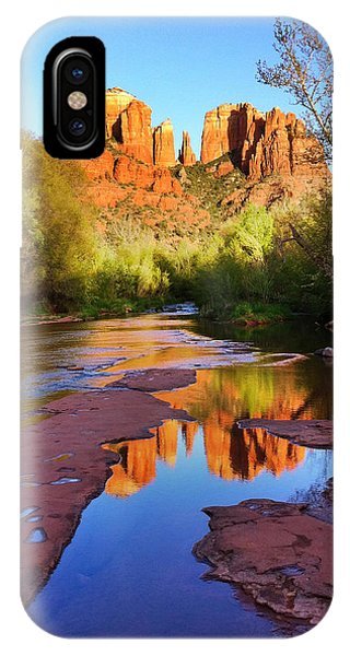 Cathedral Rock iPhone Case - Cathedral Rock Sedona by Matt Suess