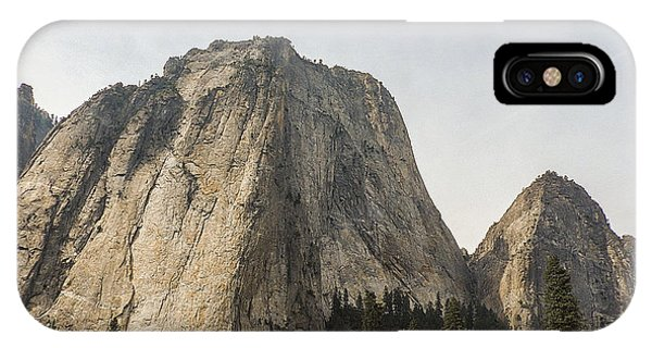 Cathedral Spires Yosemite Valley Yosemite National Park IPhone Case