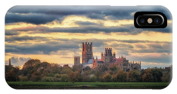 Cathedral Sunset IPhone Case