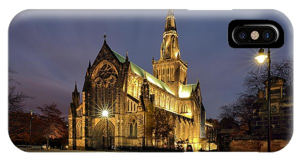 Cathedral Twilight IPhone Case