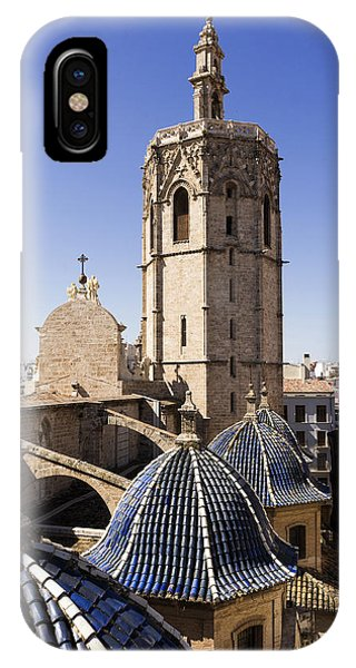 Cathedral Valencia Micalet Tower IPhone Case