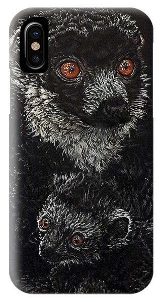 Catherina And Baby Abby IPhone Case