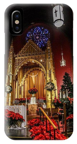 Catholic Christmas IPhone Case