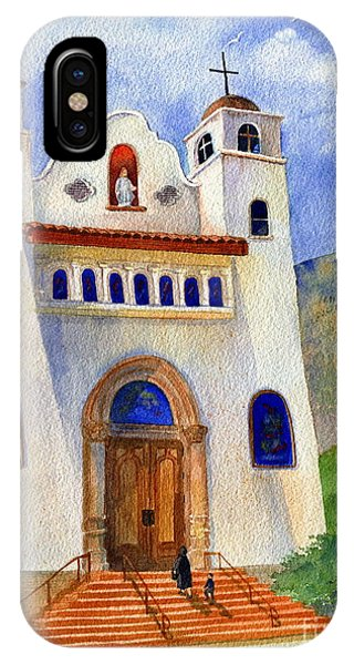 Catholic Church Miami Arizona IPhone Case