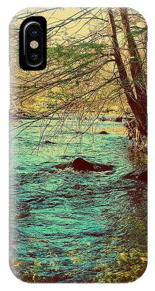 Catoctin Mountain Park iPhone Case - Catoctin Spring by Paul Kercher