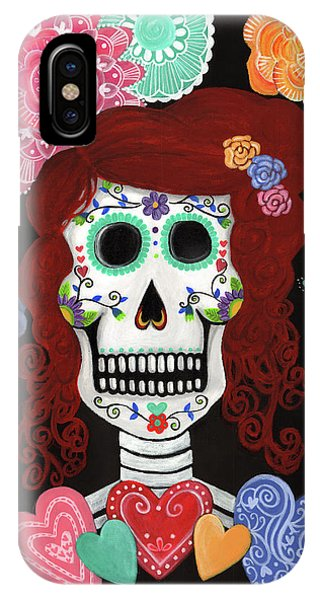 Catrina's Garden IPhone Case
